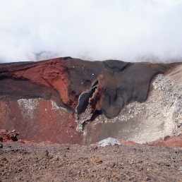 Red Crater fumaroles