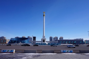 Kazak Yeli Monument