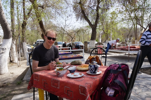 Our favorite lunch-spot in Bukhara