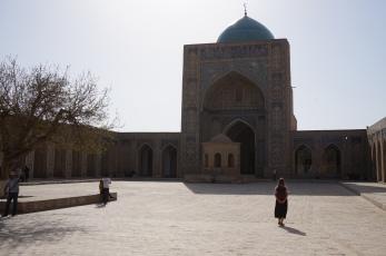 The courtyard of Kalon Mosque