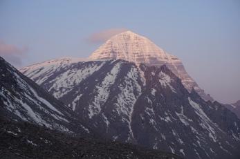 Sunrise over Mt. Kailash.