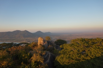 View from the top of Lifuwu Hill.
