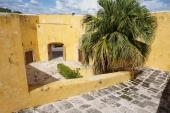 The courtyard of Baluarte de Santa Rosa