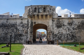 The Land Gate of Campeche