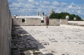 On the roof of Baluarte de la Soledad