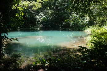 Poza Azul (The Blue Pool).